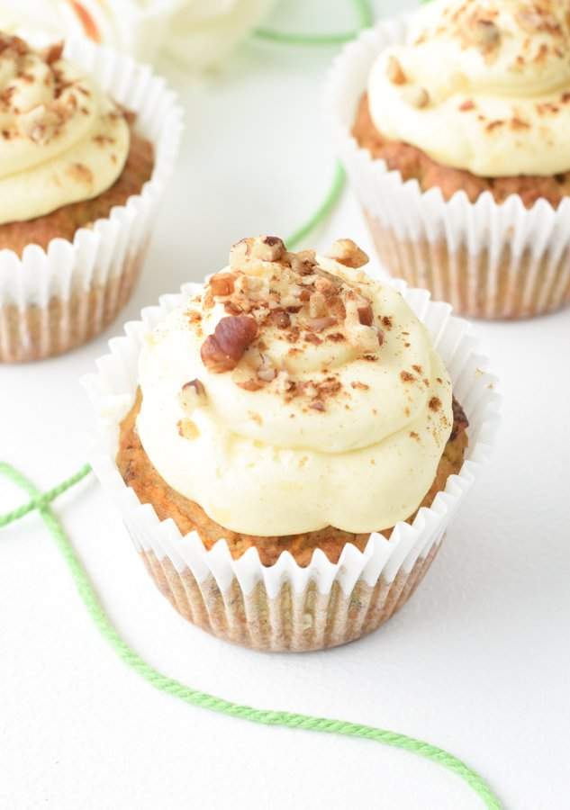 Keto Low carb Carrot Cake Muffins
