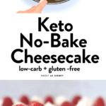 Keto No-Bake Cheesecake Recipe