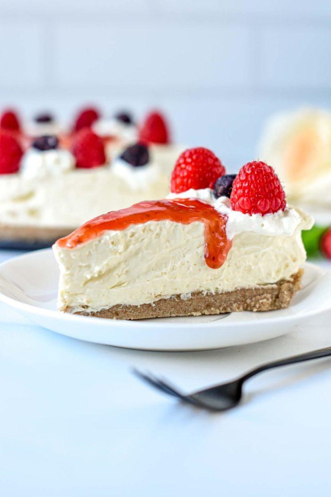 Keto No Bake Cheesecake