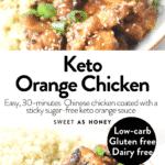 Keto Orange Chicken
