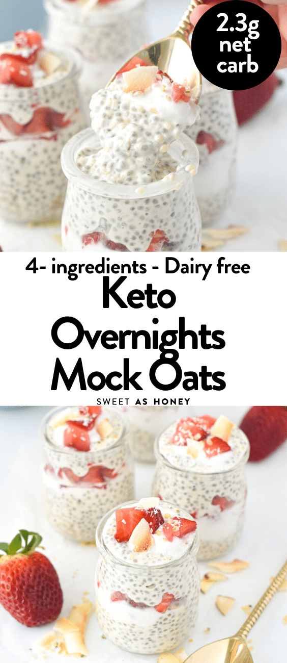 Keto Overnight Mock Oats