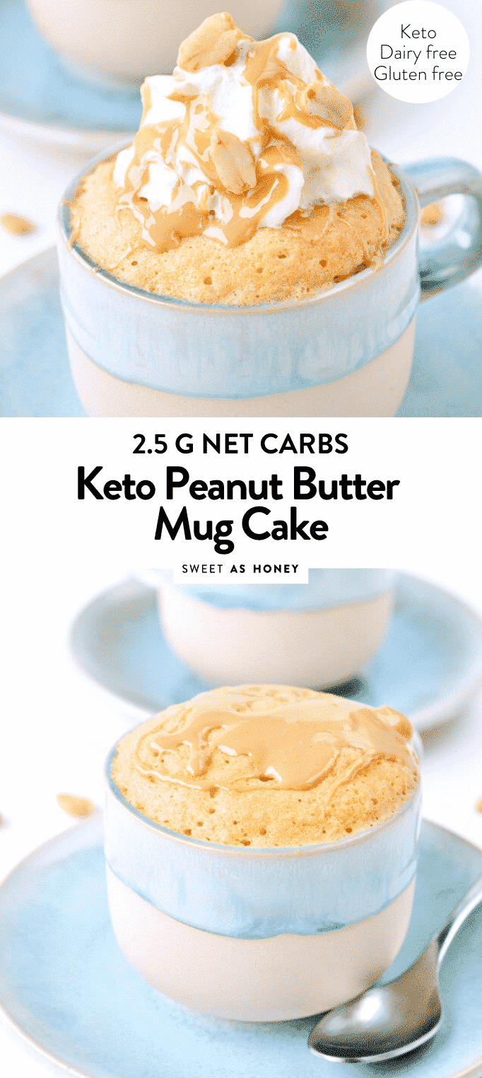 KETO PEANUT BUTTER MUG CAKE in 90 seconds microwave #keto #mugcake #peanutbutter #healthy #moist #easy #healthy #microwave #lowcarb