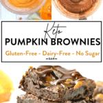 Keto Pumpkin BrowniesKeto Pumpkin Brownies