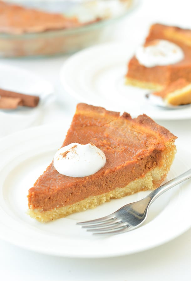 KETO PUMPKIN PIE FROM SCRATCH with Cocont flour crust ! #keto #pumpkinpie #ketopumpkinpie #fromscratch #easy #healthy #crust #coconutflour #filling #sugarfree #paleo #grainfree #glutenfree #dairyfree #recipe #video