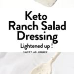 Keto Ranch Salad Dressing recipe