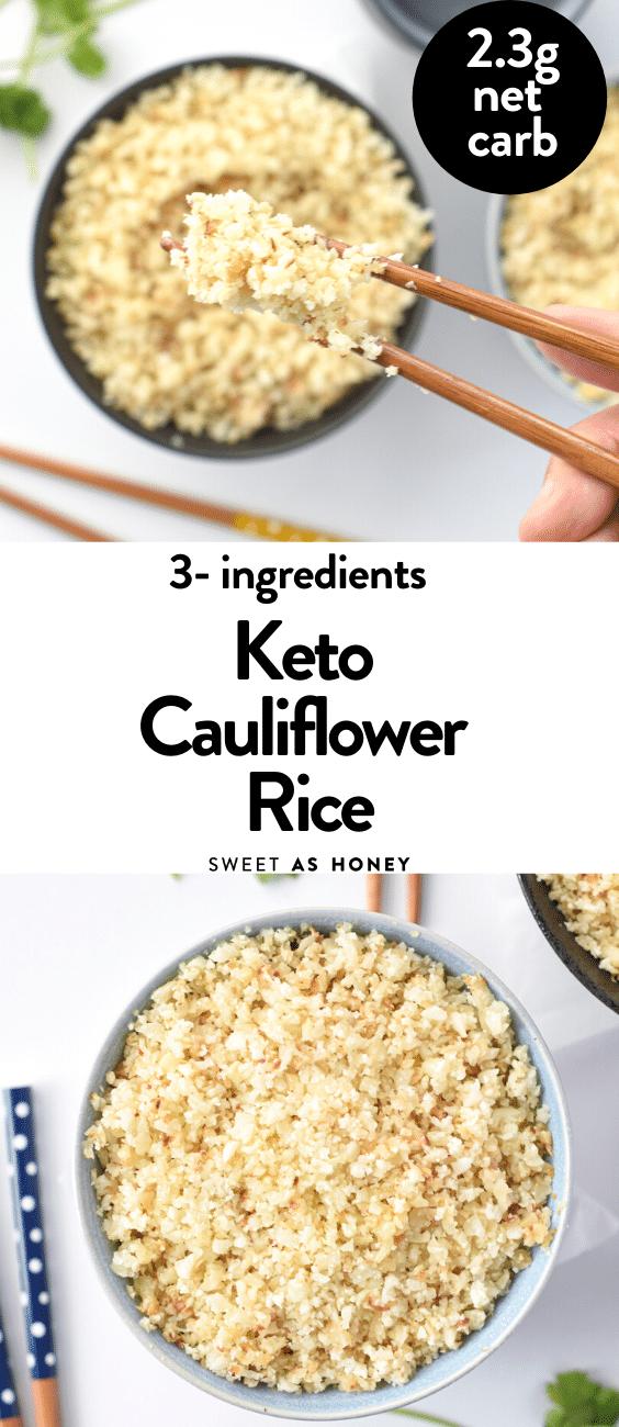 Keto Rice RecipeKeto Rice Recipe