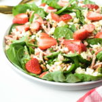 Keto Spinach Bacon Salad
