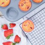 Keto Strawberry Muffins