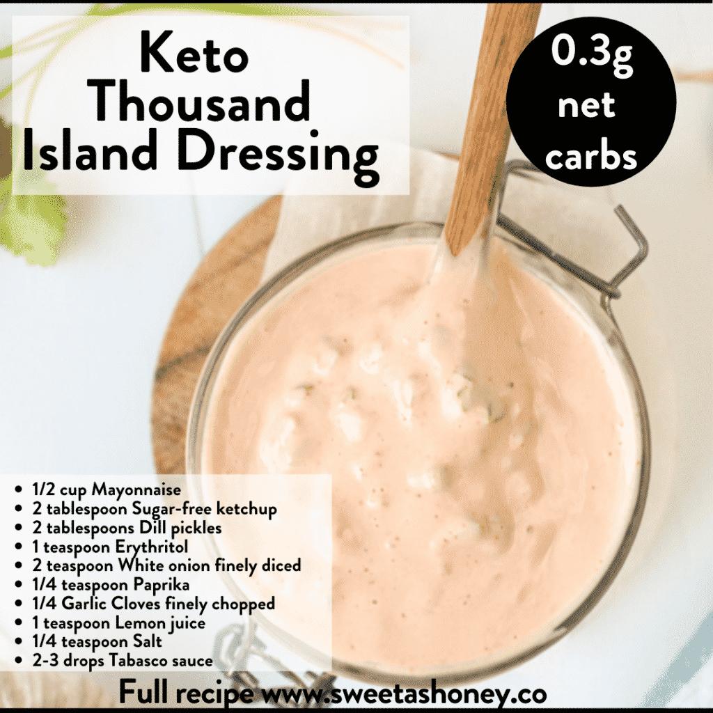 Keto Thousand Island Dressing