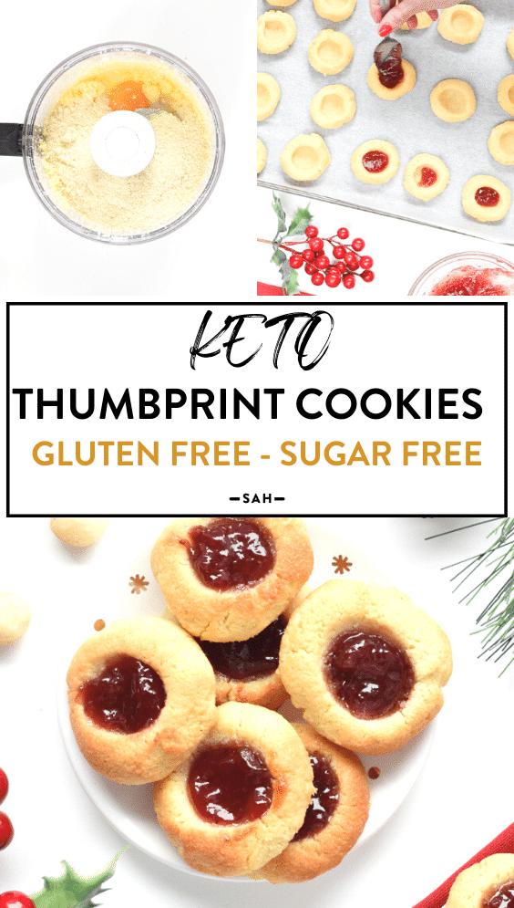 Keto Thumbprint Cookies