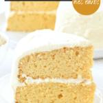 Keto Vanilla birthday Cake