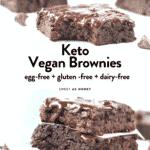 Keto Vegan Brownies