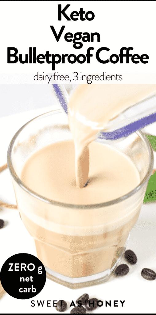 Keto Vegan Bulletproof Coffee