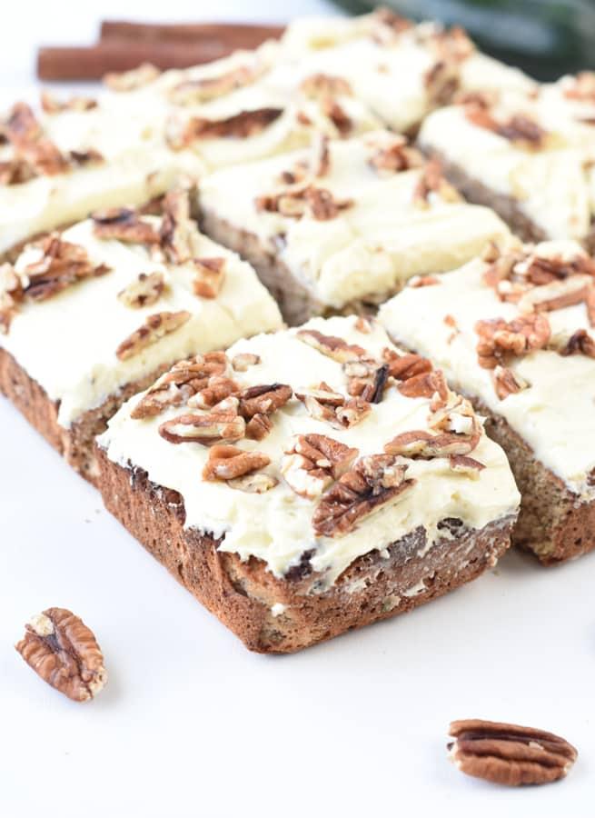 Keto Zucchini Cake Almond Flour