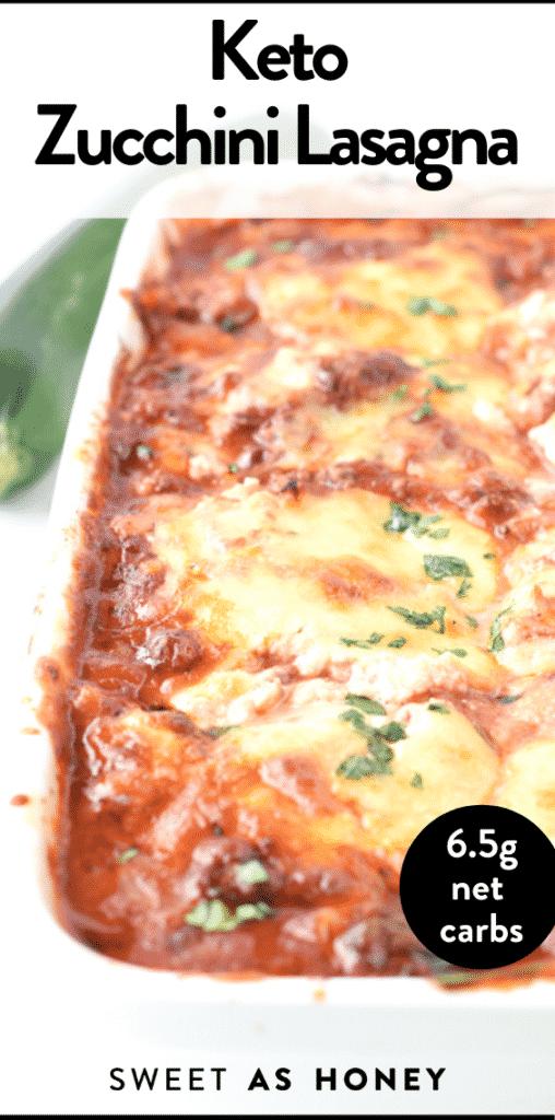 Keto Zucchini Lasagna with Ricotta