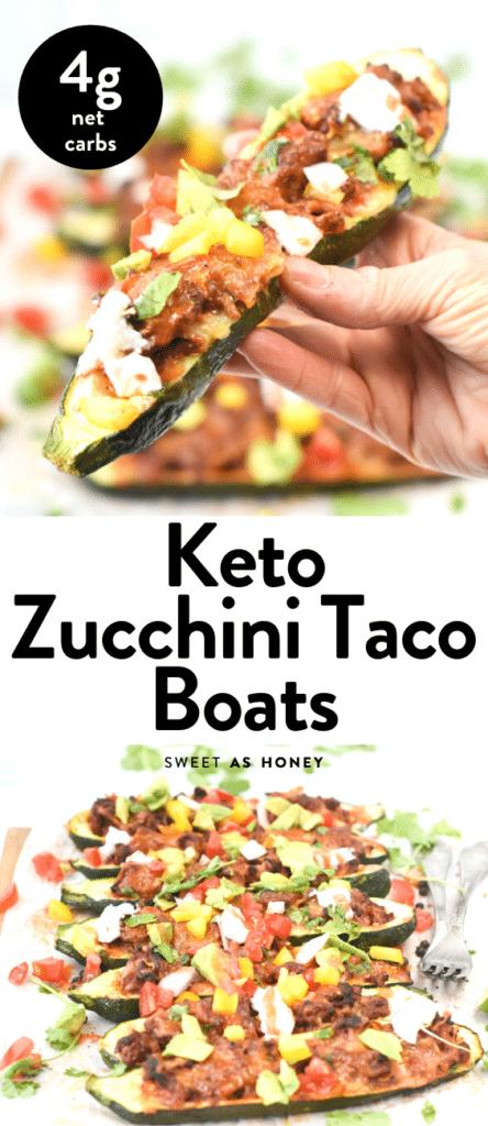 _Keto Zucchini Taco Boats