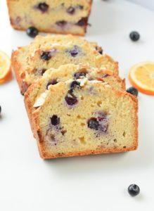KETO BLUEBERRY BREAD with coconut flour 3.9 g net carbs #keto #ketoblueberrybread #blueberry #bread #lowcarb #glutenfree #dairyfree #easy #healthy #paleo #sugarfree #homemade #lemon #ketocake #ketobread