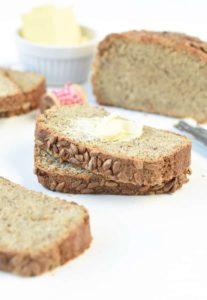 Keto bread loaf egg free