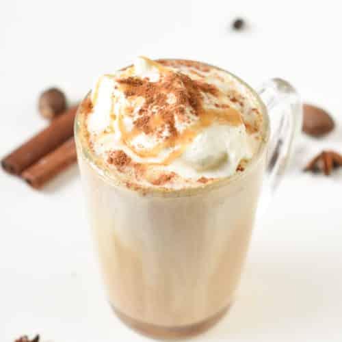 Keto bulletproof pumpkin latte