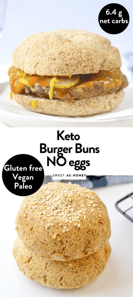KETO BURGER BUNS NO EGGS
