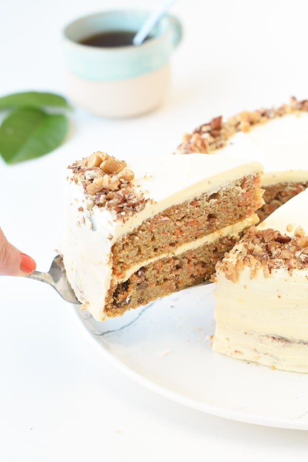Keto carrot cake gluten-free