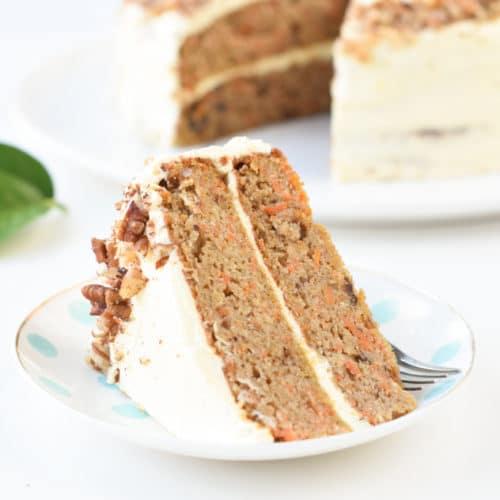 Keto Carrot Cake With Almond Flour Sweetashoney
