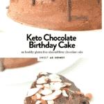 ETO CHOCOLATE CAKE almond flour cake #ketocake #ketochocolatecake #chocolatecake #cake #ketorecipes #ketodesserts #ketobaking #ketocakes #lowcarbcake #low carb #glutenfree #easy #healthy #paleo #dairyfree #glutenfree #birthdaycake #birthday #chocolate #sugarfree