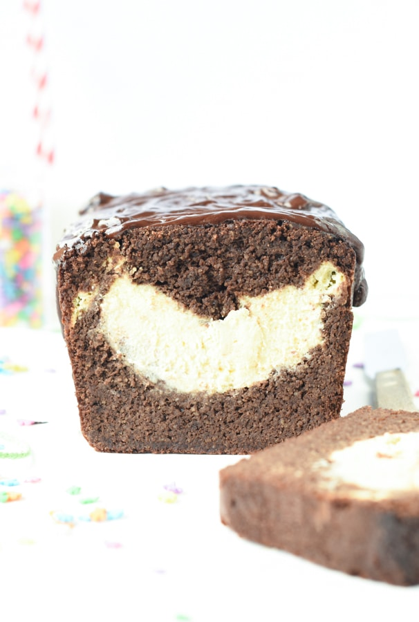 Keto chocolate pound cake