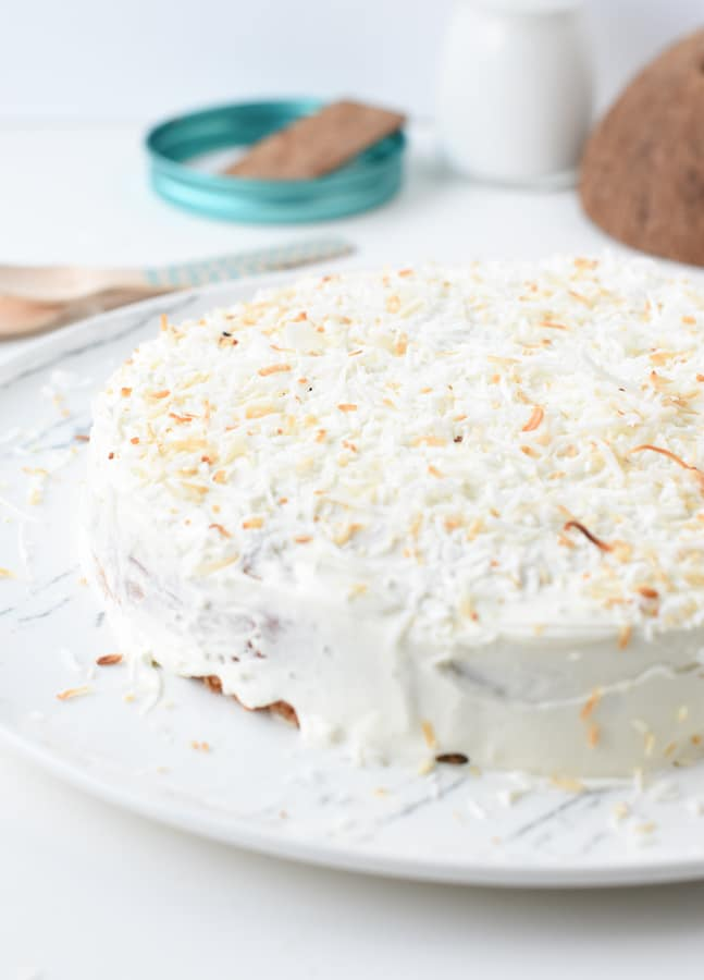 Keto coconut cake