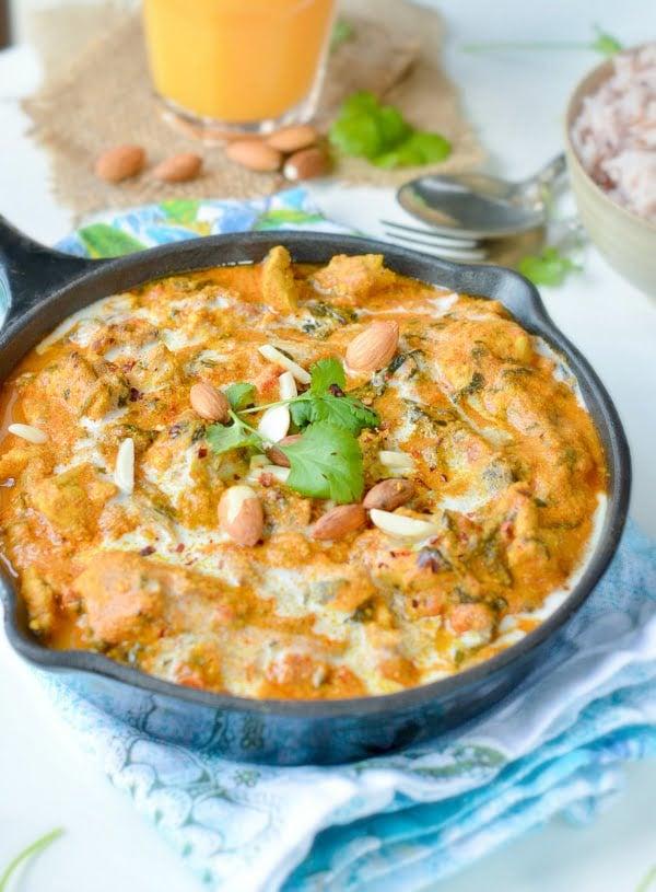 Keto coconut curry recipe