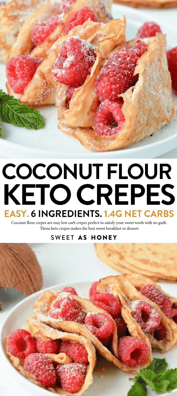 KETO CREPES coconut flour gluten free crepes