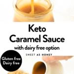 Keto Caramel Sauce Recipe