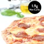 Keto fathead pizza crust
