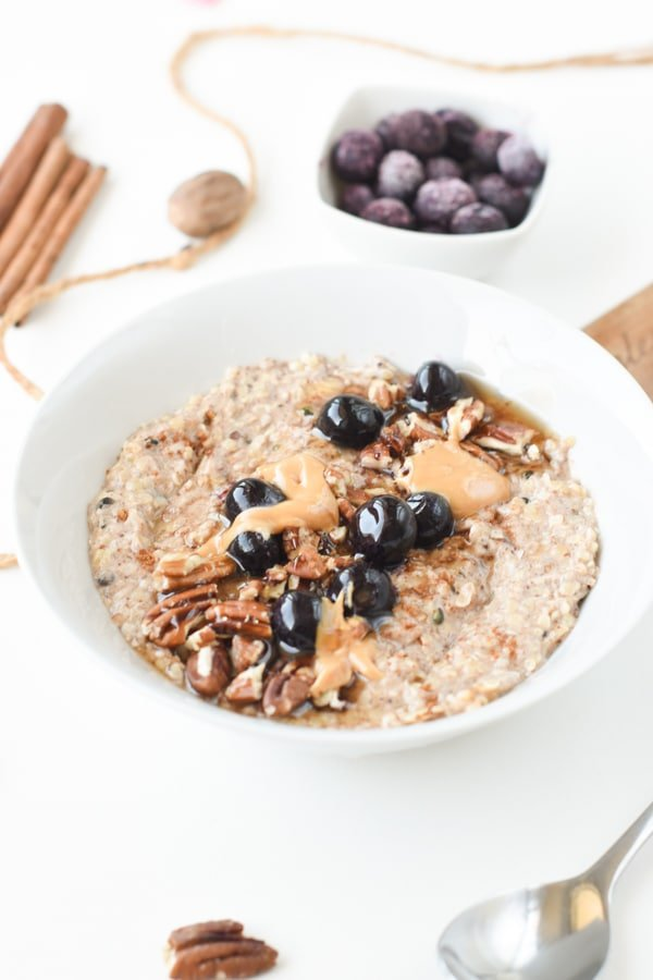 Keto hemp heart oatmeal