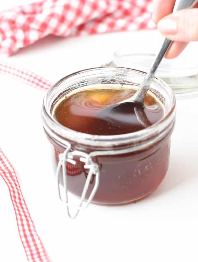 Keto maple syrup recipe