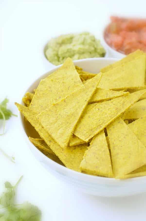 Keto nacho chips