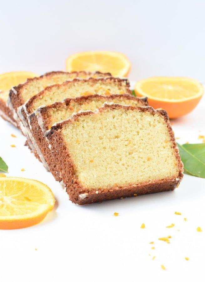 Orange pound cake almond flour