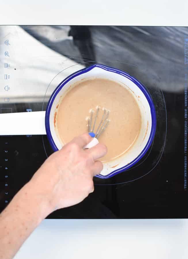 Keto pumpkin latte