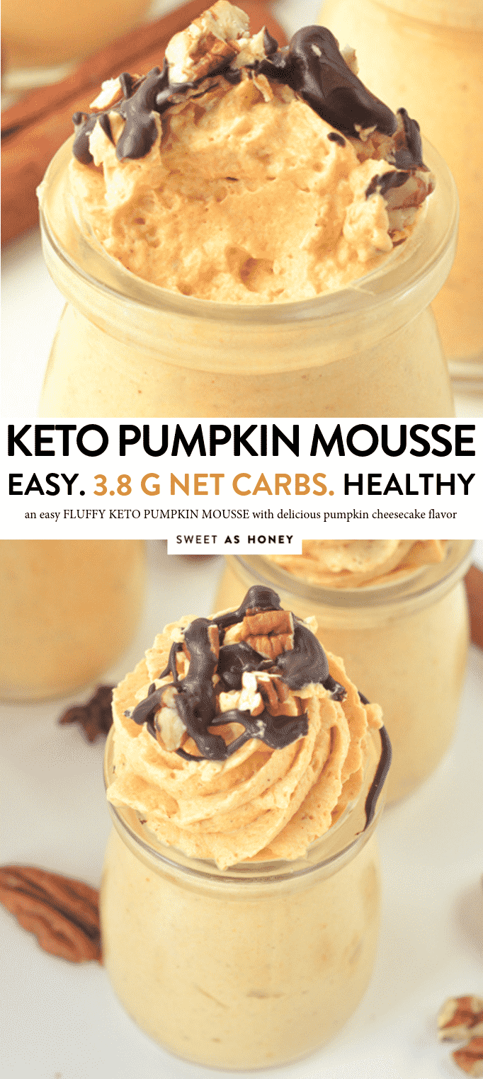EASY KETO PUMPKIN MOUSSE healthy cheesecake mousse, low carb sugar free #keto #ketomousse #mousse #pumpkinmousse #healthy #easy #lowcarb #withheavycream
