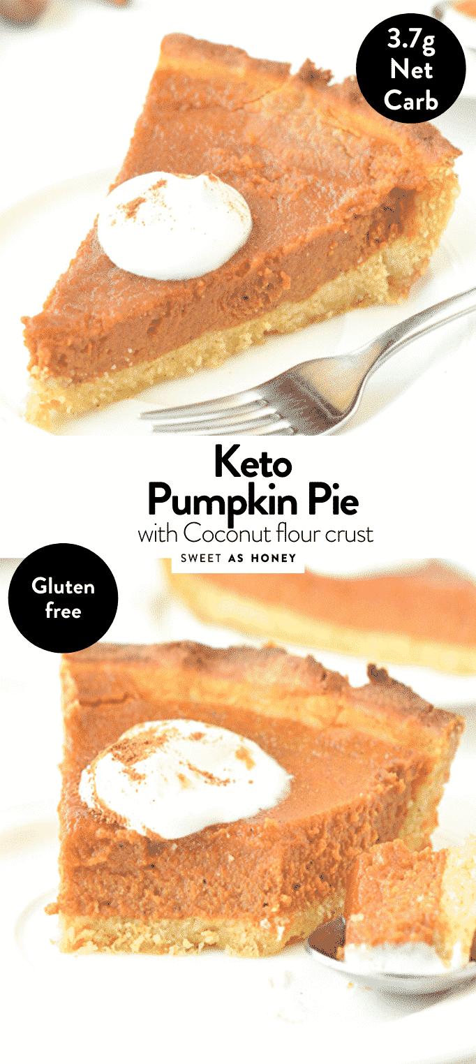 KETO PUMPKIN PIE FROM SCRATCH with Cocont flour crust ! #ketdesserts #ketopie #ketodessert #ketopumpkinpie #keto #pumpkinpie #ketopumpkinpie #fromscratch #easy #healthy #crust #coconutflour #filling #sugarfree #paleo #grainfree #glutenfree #dairyfree #recipe #video