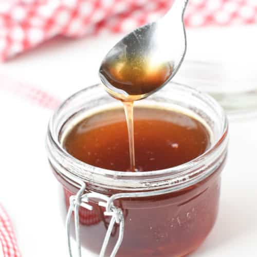 Keto simple syrup