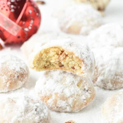 KETO Snowball Cookies 1g net carbs