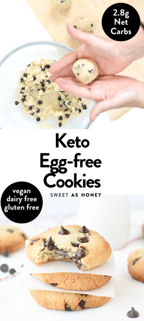 Keto egg free dairy free cookies