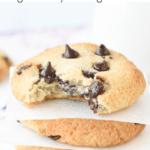 Keto vegan chocolate chips cookies