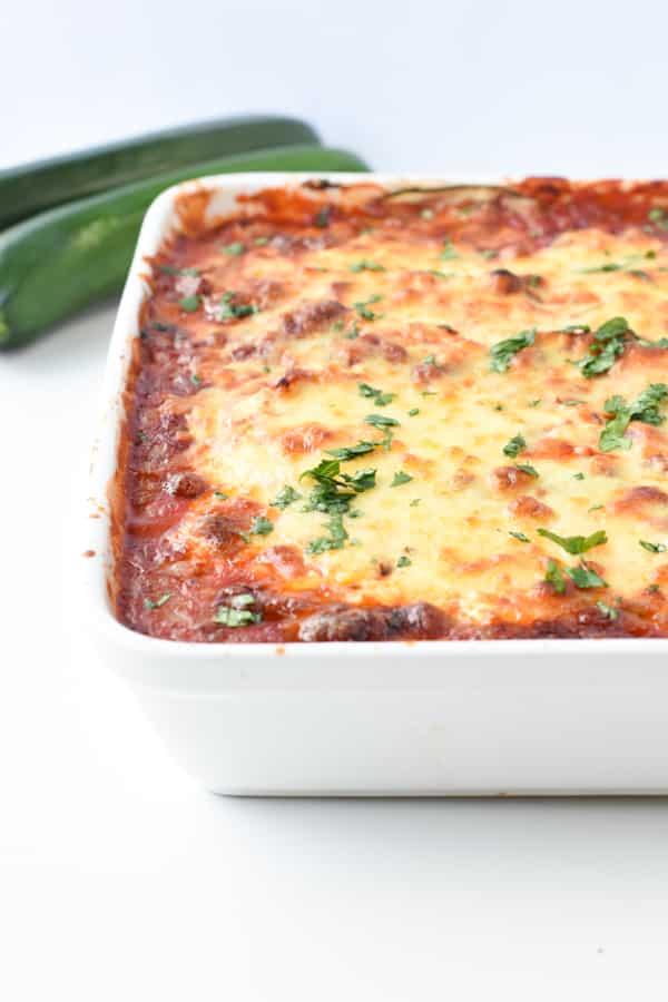 Keto zucchini lasagna not watery