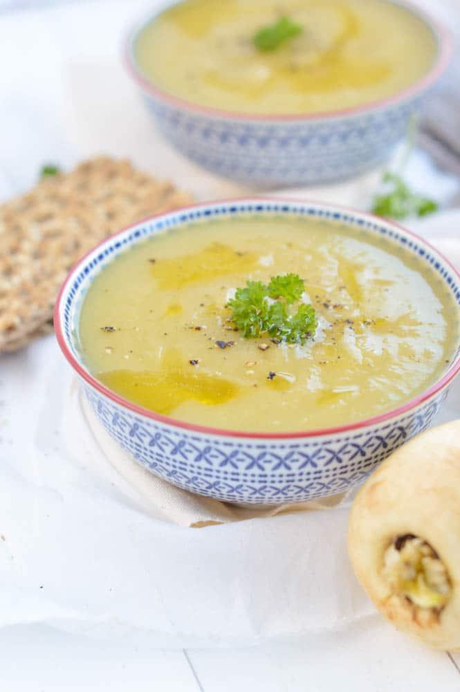 leek cauliflower soup