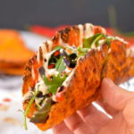 Low-Carb Carrot Taco Shell