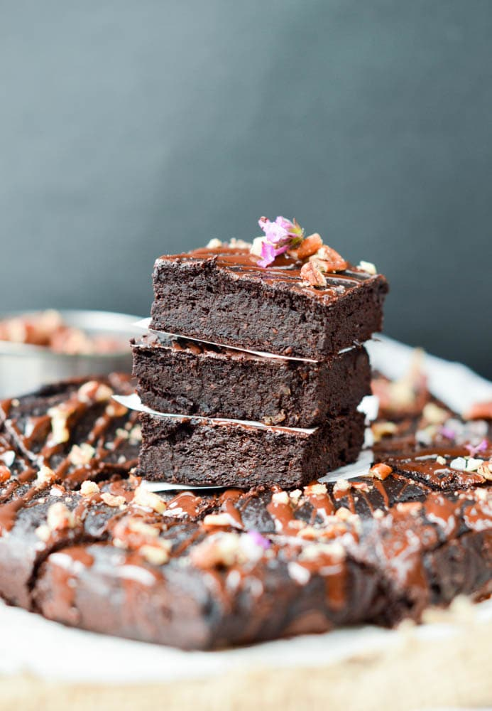 Low Carb Fudgy Avocado Brownie