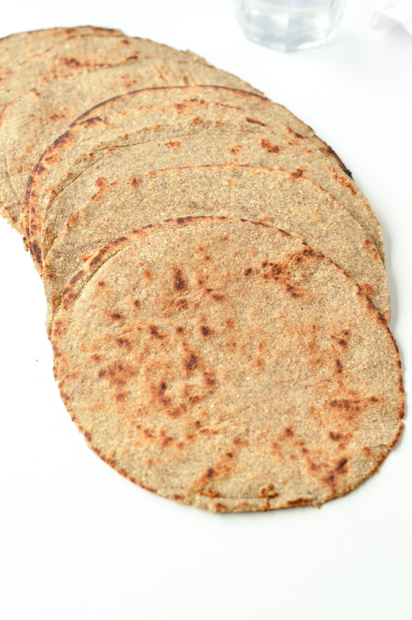 keto vegan tortillas