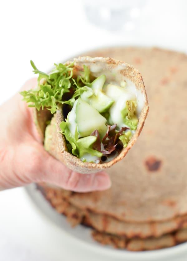 keto sandwich wrap